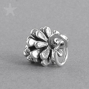 Sterling Silver Pine Cone Charm