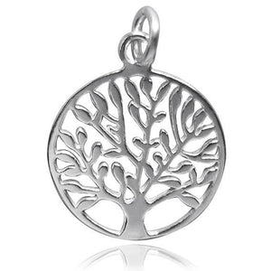 Sterling Silver or Gold Tree of Life Charm