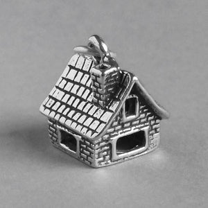 House Charm Sterling Silver Home Pendant | Charmarama