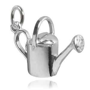 Sterling Silver or Gold Watering Can Charm