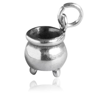 Sterling Silver Cauldron Charm
