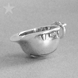 Sterling Silver Construction Hard Hat Charm