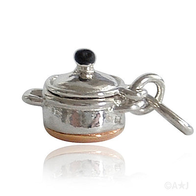 Copper Bottom Cooking Pot Charm
