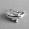 Whale charm in sterling silver or gold | Charmarama