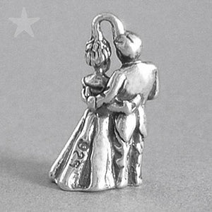 Wedding Bride and Groom Charm