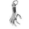 Sterling Silver or Gold Human Hand Charm