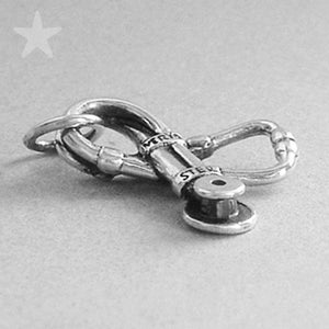 Sterling Silver Stethoscope Charm