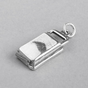 Sterling Silver Record Player Charm