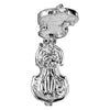 Opening Cat and Fiddle Charm in Sterling Silver or Gold