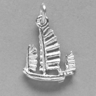 Chinese Junk Boat Charm