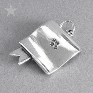 Sterling Silver Bachelors Degree Charm