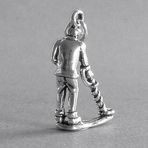 Sterling Silver Metal Detecting Charm | Charmarama