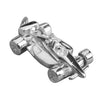 Indy Racing Grand Prix Motor Sport Car Charm | Silver Star Charms