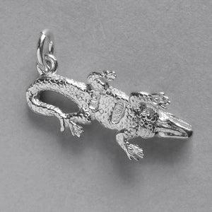 Crocodile or Alligator Charm Pendant