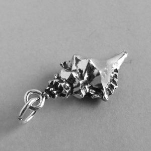 Sterling Silver Conch Shell Charm