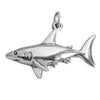 Sterling silver shark charm pendant | Silver Star Charms
