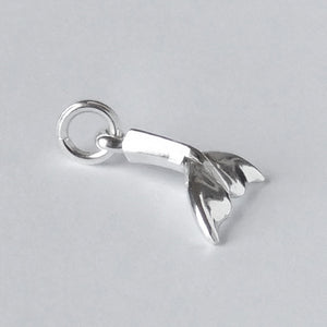Small Whale Tail Charm