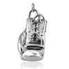 Boxing Glove Pendant in Sterling Silver or Gold