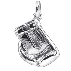 Boxing Glove Charm | Silver Star Charms