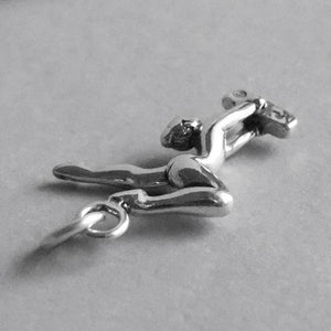 Sterling Silver Gymnast Balance Beam Charm