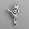 Martial Arts Karate Girl Pendant