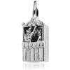 Sterling Silver Moving Punch and Judy Charm