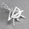 Sterling Silver Drafting Tools Charm