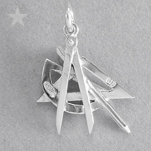 Drafting Tools Compass Set Square Protractor Charm