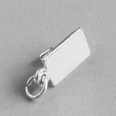 Bricklayer float trowel charm 925 sterling silver tool pendant