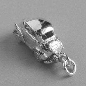 Sterling Silver Morris Minor Pendant