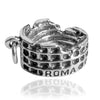 Rome Colosseum Charm in Sterling Silver