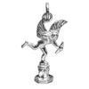 Sterling Silver Eros Statue Charm