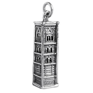 Sterling Silver Giotto's Campanile Charm