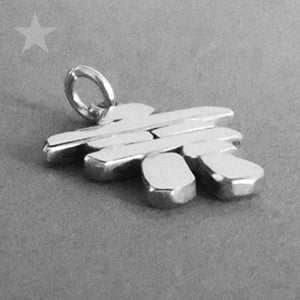 Sterling Silver Canadian Inukshuk Charm
