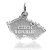 Czech Republic Map Charm