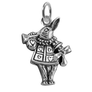 The White Rabbit Charm Sterling Silver