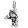 Sterling Silver Mad Hatter Charm
