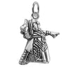 Sterling Silver Alice in Wonderland Queen of Hearts Charm