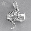 Sterling Silver Alice in Wonderful Cheshire Cat Pendant