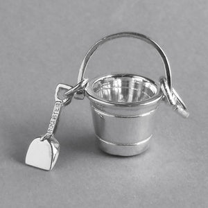 Seaside Bucket and Spade Charm