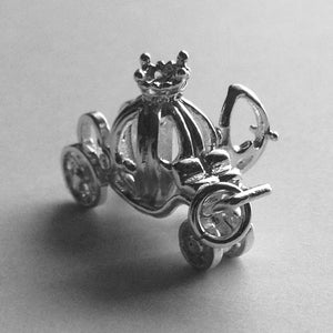 Fairy Princess Pumpkin Carriage Charm