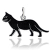 Vintage Wells Black Cat Charm