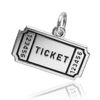 Movie Ticket Charm