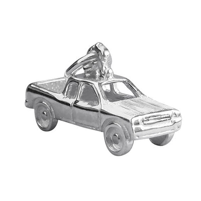 Pick up truck ute vehicle charm pendant