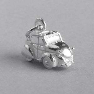 Citroën 2CV Car Charm | Silver Star Charms