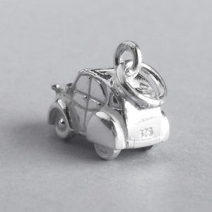 .925 Sterling Silver Citroën 2CV Car Charm | Silver Star Charms