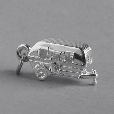Caravan Charm in Sterling Silver or Gold | Charmarama