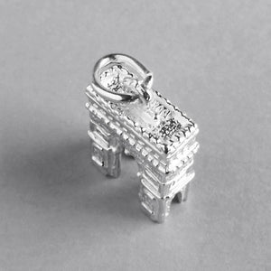 Arc de Triomphe Paris France 925 sterling silver or gold charm pendant