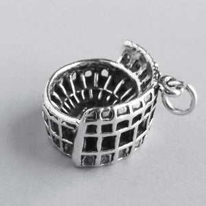 Colosseum Rome Italy charm 925 sterling silver Pendant