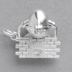 Opening Humpty Dumpty Charm Opens to Glue | Silver Star Charms